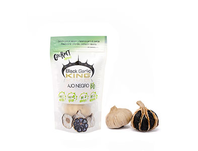 HEADS OF BIO BLACK GARLIC 2 pieces