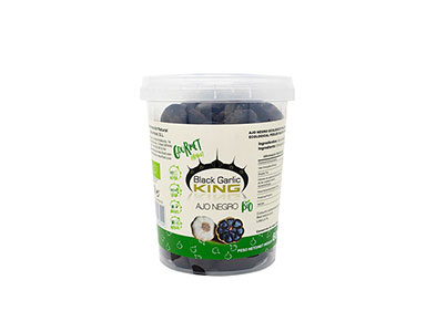PEELED BIO BLACK GARLIC 600gr